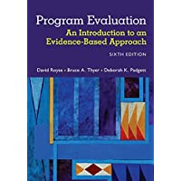 Image for Program Evaluation: An Introduction to an Evidence-Based Approach