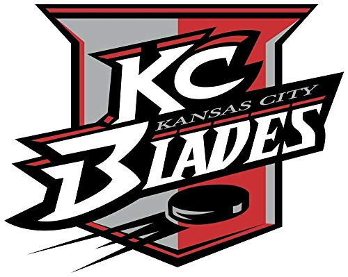Kansas City Blades - Sticker Graphic - Auto, Wall, Laptop, Cell, Truck Sticker for Windows, Cars, Trucks ()