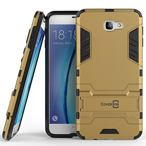 Slim Shockproof Case for Samsung Galaxy On7 (Gold) - 3