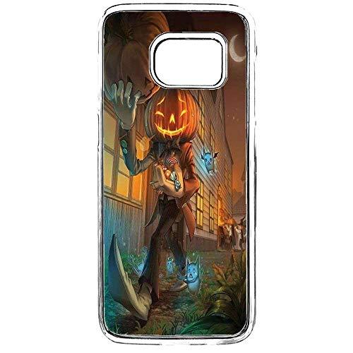 S7 Phone Case,Samsung Galaxy S7 Halloween Case,Hello BOOTIFUL Samsung Galaxy S7 Clear Slim Case Happy Halloween Case Clear Thin Slim Case for Samsung Galaxy -