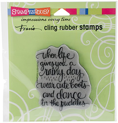 STAMPENDOUS Cling Stamp, Cute