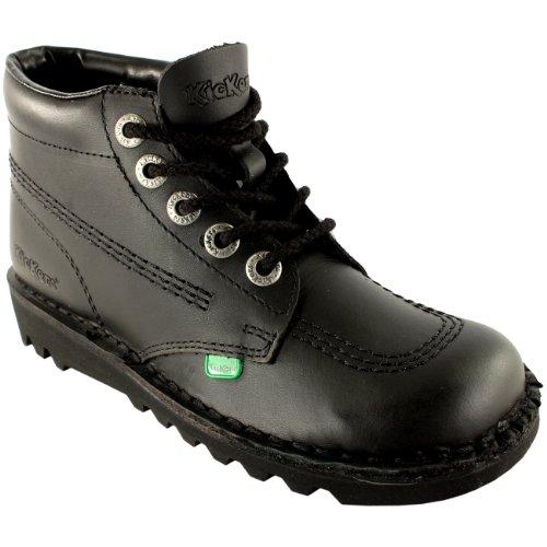 Hi noir Kick Noir Kickers Hommes Bottes Chaussures Cuir Bureau Classique Travail 6Expwv