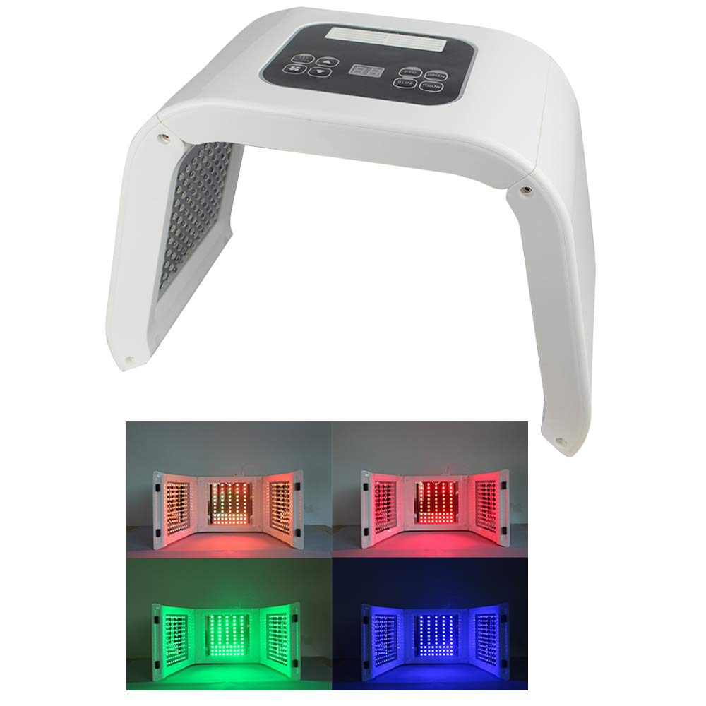 Hot Sale 4 Colors Skin Care Machine- PDT 4 LED Light Photodynamic Skin Care Rejuvenation Photon Facial Body Therapy US Plug