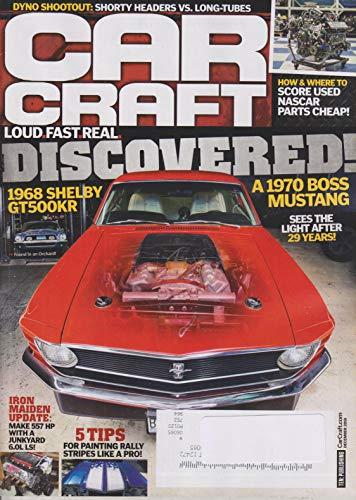 Car Craft December 2018 Discovered! 1970 Boss -