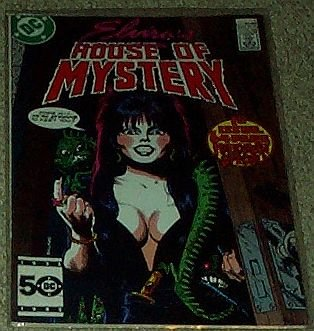 Elvira's House of Mystery No. 1 Jan 1986 (1st 64 Page Halloween -