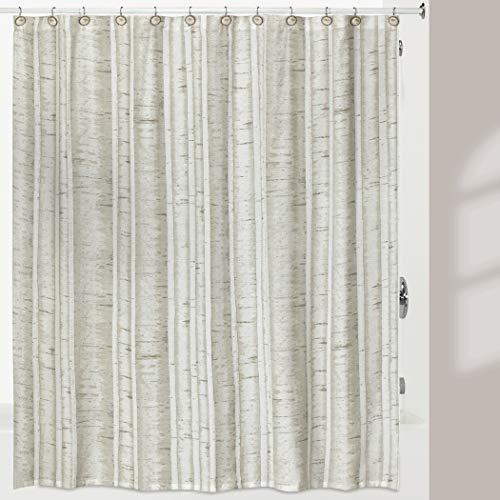 Hautman Brothers White Birch Shower Curtain, Multi