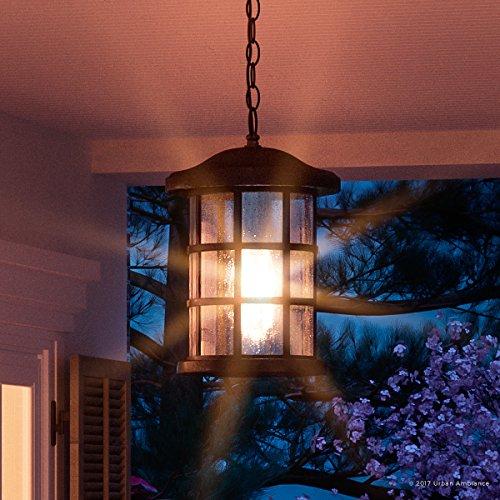 Craftsman Style Outdoor Pendant Lighting in US - 8