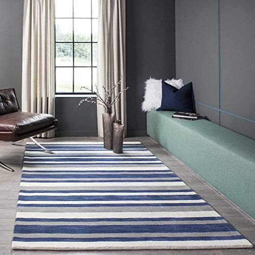 Momeni Rugs METROMT-27NVY2339 Metro Collection Area Rug, 2'3