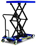 "Pake Handling Tools - Double Scissor Lift Table, 660 lbs, 33 X 23"" Platform Size"