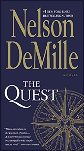 amazoncom the quest a novel 9781455503155 nelson demille books - Quest Bergroer Sessel