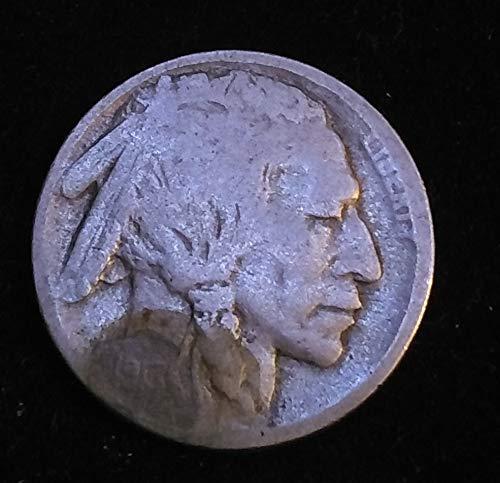 """1913 D U.S. Buffalo/Indian Head""""Type II"""" Nickel G+ American Mint U.S.A."""