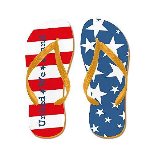 Flipflop America - Infradito, Sandali Infradito Divertenti, Sandali Da Spiaggia Arancione