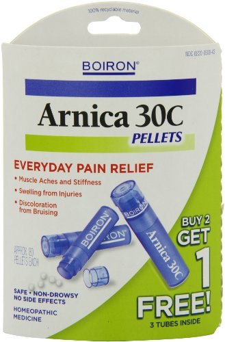 Boiron Homeopathic Medicine Arnica for Muscle Relief, 30C Pellets, 160-Count Packages (Pack of 2)