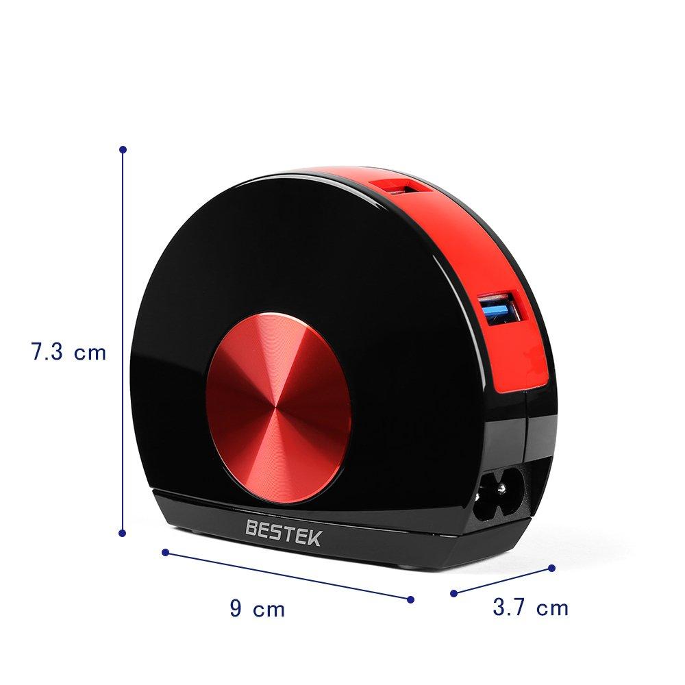 Oferta Cargador USB con 4 Puertos BESTEK por 12,99 euros (Cupón Descuento) 2 batería externa AUKEY