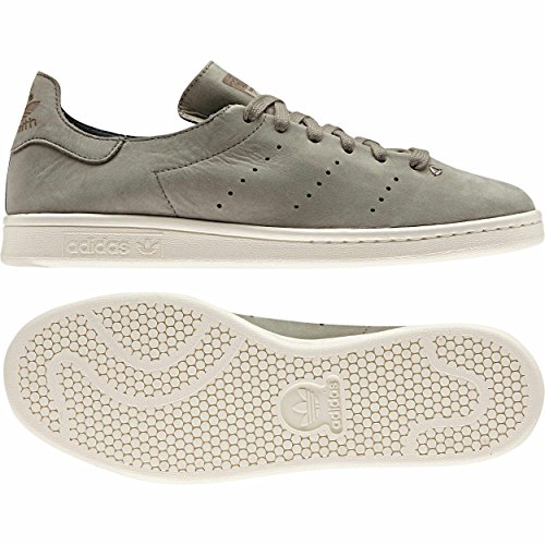 adidas Damen Stan Smith Sneaker BB0007 Dekollete minimalistisch (38 EU - 5UK, trace cargo)