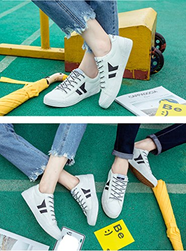 Shoes Men Cut Black Casual 05 Trainers Sports Fashion Shoes Low Canvas Lace Unisex Women Ups for and Amint Sneaker qTv56wA