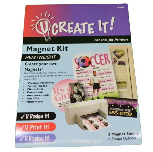almacén al por mayor Magnet Kit U CREATE IT Heavyweight Heavyweight Heavyweight Paper for Printers by U Create It  moda clasica