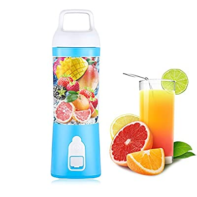 Letoo Personal Blender , Portable Juicer Machine, Rechargeable Fruit Mix, Built-in 10000mAh Lithium Battery, High-Speed to Mix Fruits, Vegetables, Frozen Fruits, Ice, Liquids