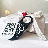 Do Not Disturb Door Hanger Sign, 2 Pack