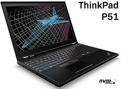 LENOVO THINKPAD P51 LAPTOP (KABY LAKE CPU): 15.6 FHD IPS, INTEL i7-7820HQ (7TH GEN, QUAD CORE), 64GB RAM, 1TB M.2 PCIE NVME SSD SAMSUNG 960, NVIDIA QUADRO M1200M (4GB), WIN 10 PRO