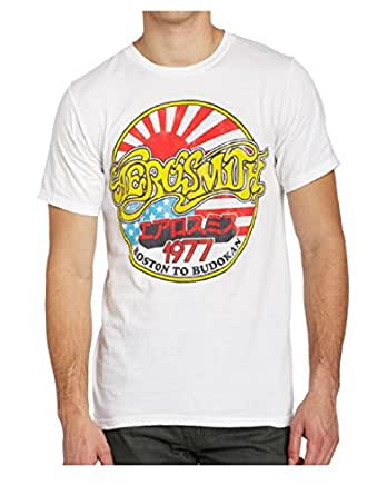 Aerosmith Boston To Budokan White T-Shirt (2X-Large)