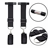 CareUToo Personal Defense Handcuffs Hanging at The Door Sport Swing - Black