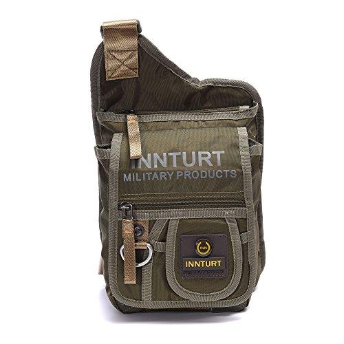 BIG SALE- DDDH Sling Bags Shoulder Backpack Chest Pack Military Crossbody  Bags For Man Women(Black). by dddh. Color  Black d113091010