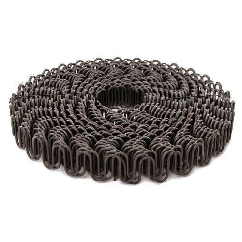 B.C. Upholstery Zig Zag No Sag Furniture Spring (Sinuous Wire) - 8 Gauge/111' (Zig Zag Wire)