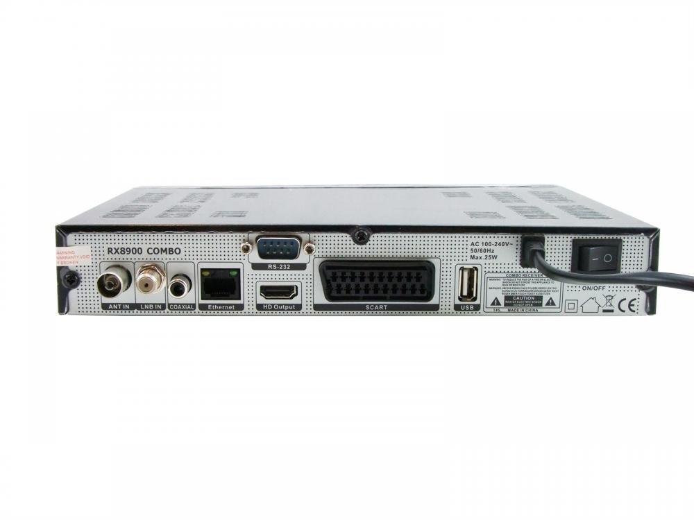 bware rx8900/HD COMBO Sat//DVB-T2/H.265/Full HD Receptor
