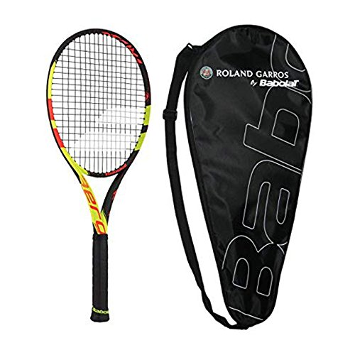 ro Decima Tennis Racquet - Strung with Cover - French Open commerative (4-1/4) ()