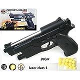 Red line Series 50606-Pistolet à billes 6mm- 0.5 Joule -Couleur noir