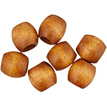 Pepperell PWB1311-02  Barrel Wood Beads, 13mm by 11mm, Maple, 18-Pack