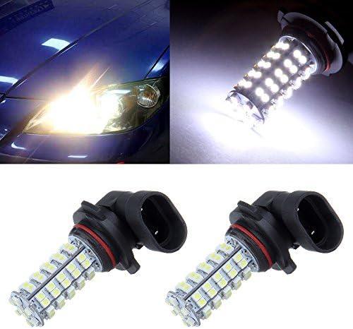 cciyu 9006 HB4 LED電球 2xキセノンホワイト フォグドライビングライト用 高輝度68 3528-SMD LED 昼間ランニングライト DRLランプ