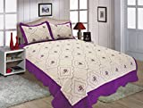 All you reversible quilt set, bedspread,coverlet-/Purple/King