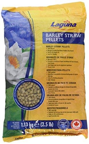 Laguna Barley Straw Pellets, 2-1/2-Pound with Mesh Bag (Barley Straw Pellets)