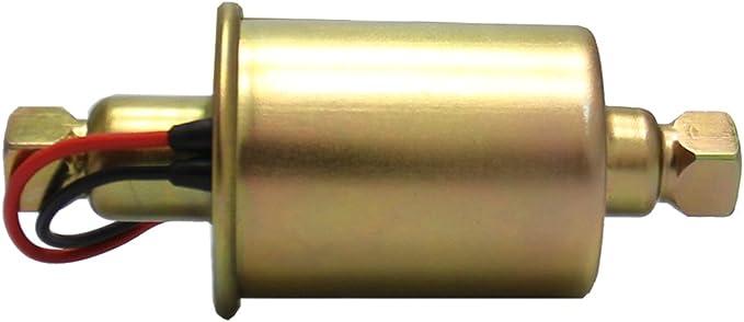 Inline Elektrische Kraftstoffpumpe 12 V Universal Metall Massiv Diesel Benzin Niederdruck Für Autos 5 9 Psi Auto