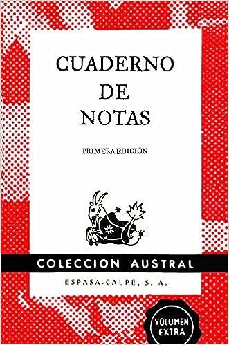 Cuaderno de notas rojo 9x14cm AUSTRAL EDICIONES ESPECIALES ...
