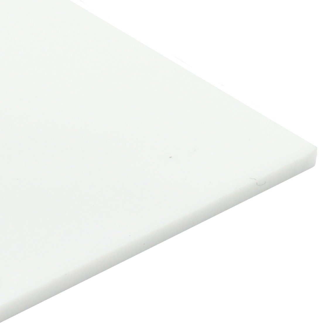 3mm Perspex White Gloss Acrylic Plastic Sheet 16 SIZES TO CHOOSE (500mm x 500mm) Sign Materials Direct