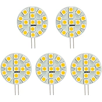 Amazon Com Jtech G4 15 X 5050 Smd Led Disc Type Side Pin