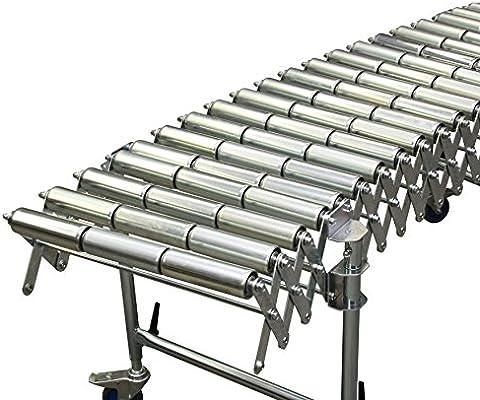 Tijeras de ruedas de tren de acero ruedas - 800 x 3.300 hasta 7.900 mm (BxL)- extensible - regulable en altura