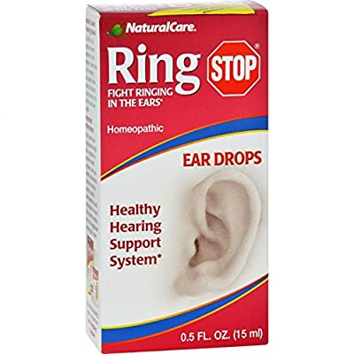 NaturalCare Ringstop Ear Drops, 0.5-Ounce by NaturalCare