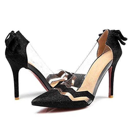 2 Coolcept Scarpe Donna Black Estate Eleganti Chiuse qqfOnR4S