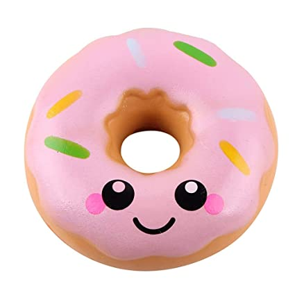 11 cm Lovely Donut Cream Aromatic Squishy Slow Down Growth Squeeze Anti-Stress Soft Funny