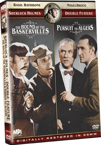 Sherlock Holmes: The Hound of the Baskervilles/Pursuit to Algiers by Basil Rathbone