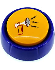 RIBOSY Rap Airhorn Sound Button - Hip Hop Air Horn Sound Effect Button - Hype Up Your Life (Batteries Included) Blue