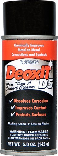 DeoxIT DN5 Spray, (NSN-6850-01-519-5548) 5% solution 163 g (Spray Deoxit Caig Solution Cleaning)
