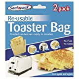 Seal-a-pack Re-usable Toaster Bag (Pack of 2)