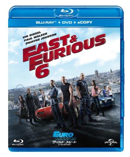 ワイルド・スピード EURO MISSION ブルーレイ+DVDセット(E-Copy)