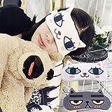 2pcs Sleep Eye Mask Hot Cold Therapy Cartoon Comfortable Eye Patch for Women Men