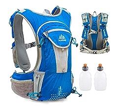 Amazon.com : TRIWONDER Hydration Pack Backpack 12L Professional Outdoors Mochilas Trail Marathoner Running Race Hydration Vest (Black - Only Vest) : Sports ...